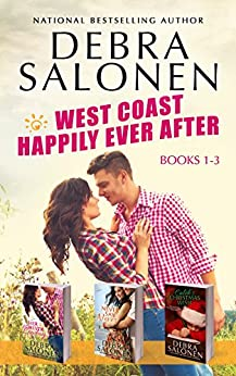 West Coast Happily-Ever-After Series: Books 1-3 (Her Forever Cowboy, Never Say Never, Caleb's Christmas Wish) by [Debra Salonen]