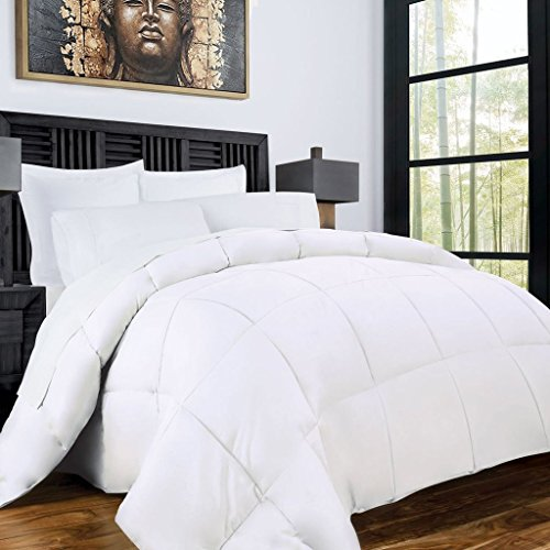 Zen Bamboo Luxury Goose Down Alternative Comforter - All Season Hotel...