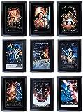 HWC Trading A3 FR Star Wars komplette Saga Movie Poster
