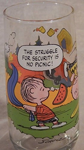 CAMP SNOOPY Collectible Glass (1965)