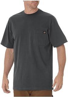 Dickies Men's Short Sleeve Heavyweight Crew Neck Pocket Tee