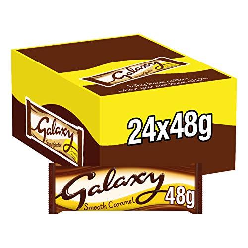 Galaxy Caramel Twin, 48 g - Pack of 24