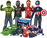 Imagine by Rubie's Marvel Avengers Play Trunk with Iron Man, Captain America, Hulk, Black Panther Costumes/Role Play Amazon Exclusive