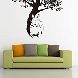 Vinyl Saying Lettering Wall Art Inspirational Sign Wall Quote Decor Home Decor My Neighbor Totoro Wall Decal Totoro Under The Tree Vinyl Wall Sticker Kids Room