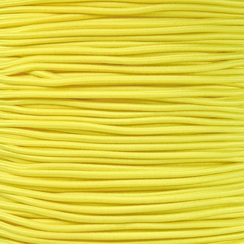West Coast Paracord Elastic Bungee Nylon Shock Cord - Various Colors - Multiple Diameters and Lengths