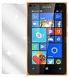 dipos I 2X Schutzfolie klar kompatibel mit Microsoft Lumia 435 Folie Bildschirmschutzfolie