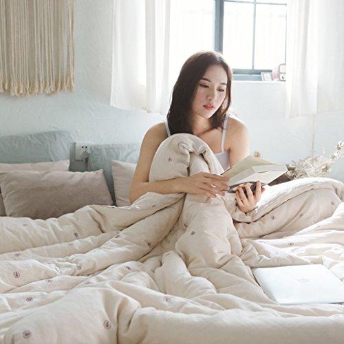 MMM Quilt coton printemps et automne Quilt Core double literie individuelle (Couleur : #4, taille : 220 * 240cm(3.75kg))