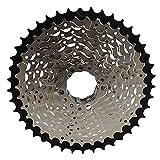 Ryyland-Home Unisex-Fahrradteile Speed Cassette HG500-10 Flywheel Mountain Bike 10 Speed 30 Speed Flywheel 11-42T Turm Rad (Color : Silver, Size : 11-42T)