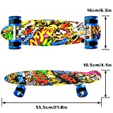 Zoom IMG-2 lisopo mini cruiser skateboard 22