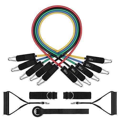 WEIFAN Anzug Ziehen Seil-Multifunktionale Latex Training Widerstandsband Frau Beine Und HüFten Yoga HilfsgüRtel HeimköRperüBung