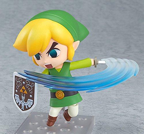 Vibret 10CM Exquisita edición Limitada The Legend of Zelda Cat'S Eye Link Puede Cambiar la Cara Puede Cambiar la Cara Nendoroid Figuras de acción Figura de Juguete de Anime Modeloescritorio Regalo