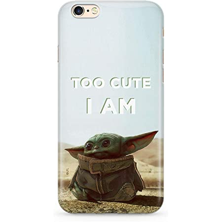 Original Star Wars Coque de Protection pour Baby Yoda 004 IPHONE 6/6S Phone Case Cover, Multicolor