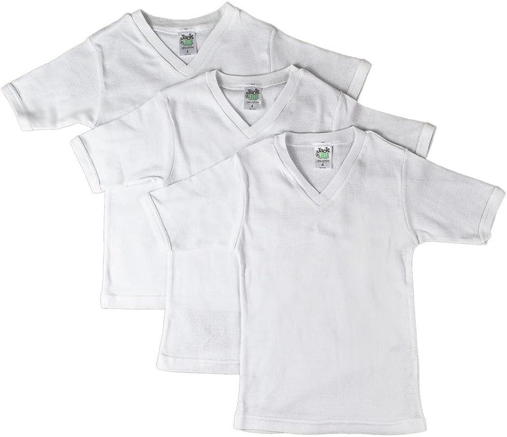 Jack & Jill Boys V-Neck Short Sleeve