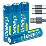Best Rechargeable Batteries Aaas - Rechargeable AAA Batteries USB Lithium Ion AAA Batteries Review
