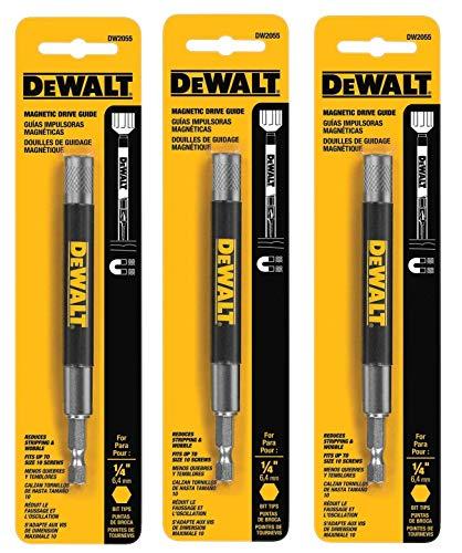 DEWALT DW2055 Magnetic Bit Tip Holder (3 PACK)