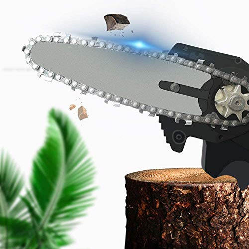 CASELAST 550W Mini Chainsaw, Saw Woodworking Electric Chain Saw Wood Cutter Cordless