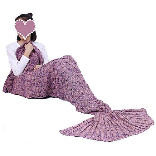 Handgemachte Meerjungfrauenschwanz-Decke...