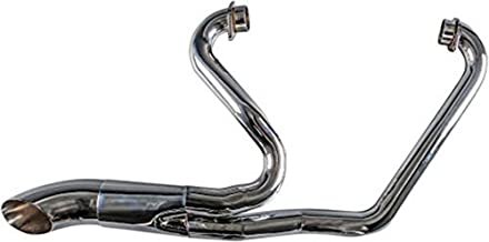 Trask Hot Rod 2 into 1 Chrome Exhaust System for 2006-2015 Victory Hardball and 2010-2015 Victory Cross Roads & Cross Country