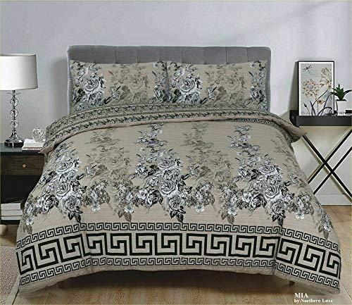 Northern Luxe Printed Duvet Set Bedding 2020 Designs UK Stock (Mia, King)