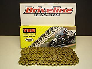 Driveline Performance Heavy Duty Non-Oring Gold Chain 136 Links