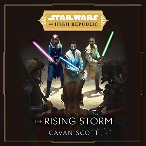 Page de couverture de Star Wars: The Rising Storm (The High Republic)