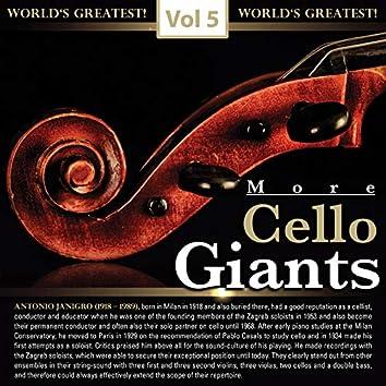 More Cello Giants, Vol. 5