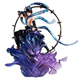 High 18cm Naruto Thor God Sasuke Naruto Naruto Shippuden Aeolus Boxed Sculpture Regalo Modelo Ilustr...
