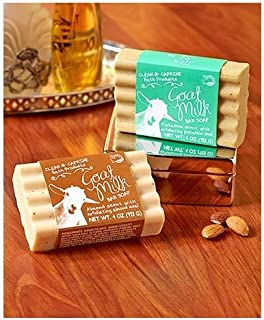 Simply be well Specialty Soap Gift Sets (Set of 2 Pistachio/Almond Goat's Milk Soaps)