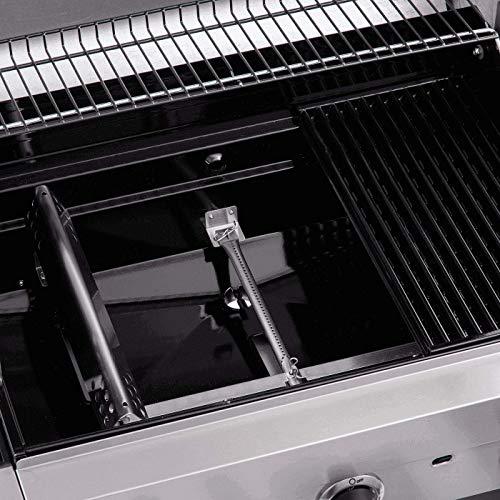51cu2meqjDL - Char-Broil Performance Series 340B - 3 Brenner Gasgrill mit Seitenbrenner, schwarz & 140789-Cool-Clean Grillbürste