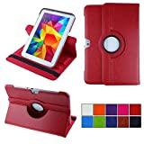 COOVY® Etui pour Samsung Galaxy Note 10.1 GT-N8000 GT-N8010 GT-N8020 Coque de Protection Rotation...