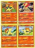 Evolution Set - Cyndaquil QUILAVA TYPHLOSION - SM185 Black Star Promo Lost Thunder - 4 Card LOT Rare