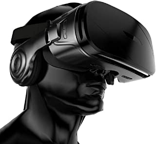 Virtual Reality Headset G300 VR Glasses Virtual Reality 3D Glasses Helmet VR with Headset Headphone for 4.0-6.0 inch Smart Phone