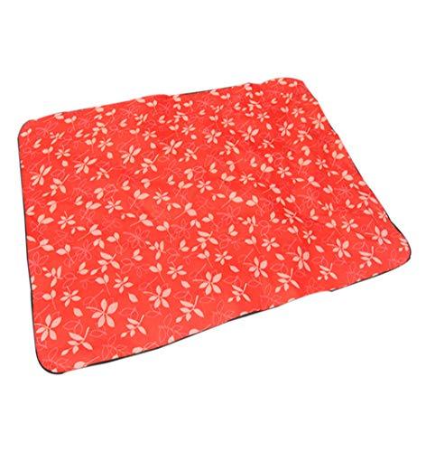 zhbotaolang Emballable Plein air Pique-Nique Tapis de Plage - Camping Cour de Récréation Rampant Matelas Couverture Gamins Intérieur Pad de Jeu Red/S