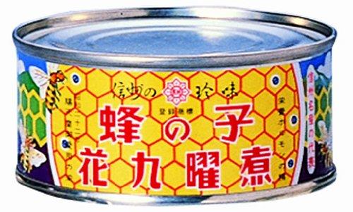 原田商店 花九曜印 蜂の子花九曜煮 F3 65g