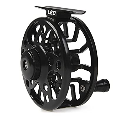 Lixada Aluminum Alloy Fly Fishing Reel Fishing Reel 3/4/5/6/7/8 Weight 2 + 1 Ball Bearings Left Right Interchangeable Fly Reel by Lixada