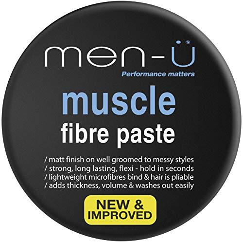 Men U Muscle Fibre Paste Hair Gel for Men 3.3oz