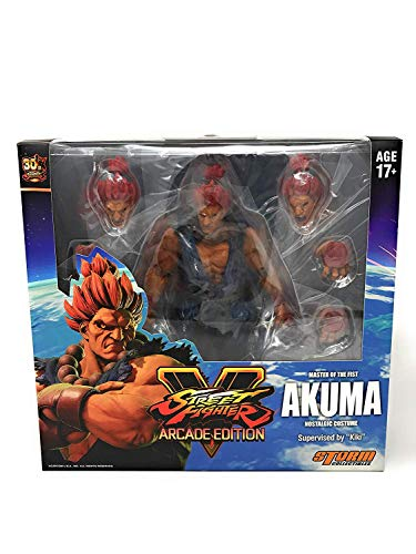 Storm Collectibles Street Fighter V Akuma Nostalgic Costume Arcade Edition Action-Figur