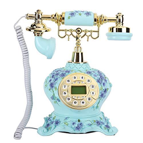 Teléfono Antiguo Vintage con Cable, teléfono Fijo...