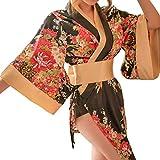 Republe Floral Kimono Donne Fotografia Prop Sexy Girl Cosplay Costume di Scena delle Prestazioni
