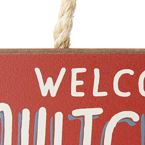 Product Image 3: Welcome to Camp Quitcherbitchin – 4×10 Hanging Wooden Sign by My Word!