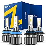 Best LED Headlights - ZonCar 9005 H11 LED Headlight Bulbs High Low Review