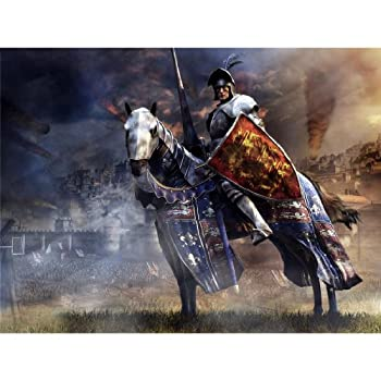 Medieval 2 Total War Poster by Silk Printing # Size about  47cm x 35cm 19inch x 14inch  # Unique Gift # 6E5938
