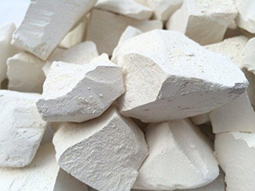 Edible Chalk, KRAM Edible Chalk Chunks (lump) Natural for Eating (Food), 4 oz (113 g)