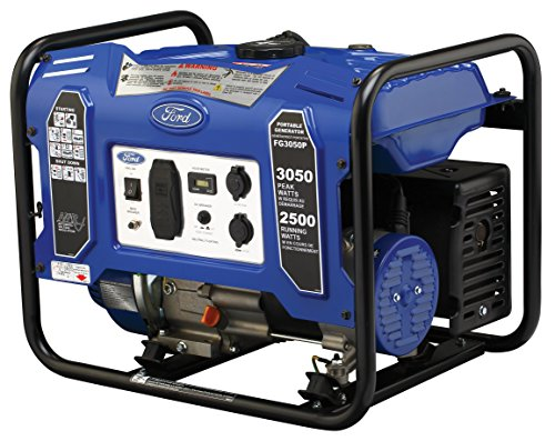 ford gas generators Ford FG3050P M Series 3050W Peak 2500W Rated Portable Gas-Powered Generator
