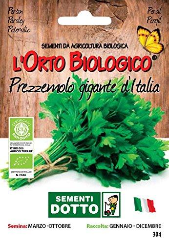 Sdd O.Bio_Prezzemolo Gigante d'Italia Seme, 0.02x15.5x10.8 cm