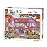 King- Herbsthaus Puzzle de 1000 Piezas, Multicolor (56040)