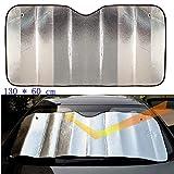 Parasole Per Parabrezza Auto della finestra anteriore Sun del parasole Auto posteriore Ombra Interni Cura del parabrezza della visiera stagnole copertura UV Protect Bubble cotone Film 130 * 60cm Paras