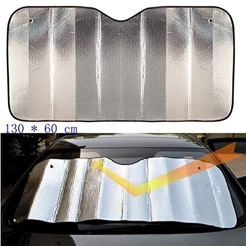 Coche Parasol Delantero Para Protector Frente ventanilla del coche de Sun de la sombrilla posterior auto parabrisas de la cortina de Atención Interior Láminas visera cubierta UV Protect burbuja de alg