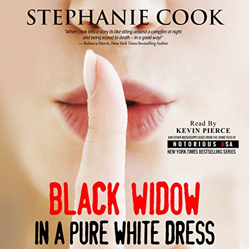 Black Widow in a Pure White Dress audiobook cover art