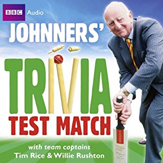 Brian Johnston: Johnners' Trivia Test Match cover art